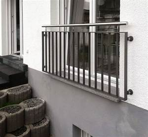 Metallbau lerch leistungen service balkon gelander for Französischer balkon mit solarleuchten warmweiß garten