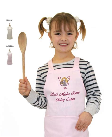 'Let's Make Some Fairy Cakes' Kid's Apron WithCongratulations