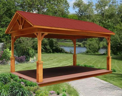 red cedar gable roof ramadas ramadas  material