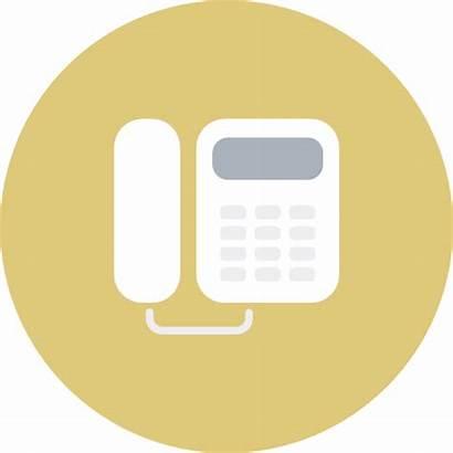 Telephone Icon Office Telecommunication Electronics Glory Morning
