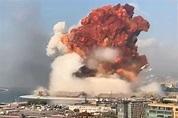 黎巴嫩总统谈贝鲁特爆炸:不排除外国介入,正检查是否用了导弹