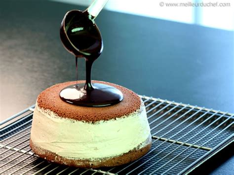 glacage brillant au chocolat fiche recette illustree