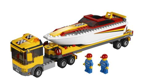 Lego City Fishing Boat Speed Build by Toy Boat Trailer And Truck The Hull Truth Boating
