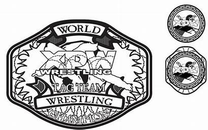Xpw Tag Team Belts Belt Custom Dan