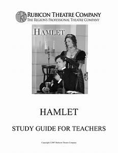 Hamlet Study Guide For Teachers