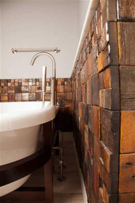 reclaimed wood wall tiles modern wall decorating ideas