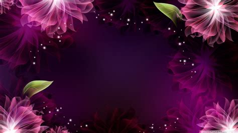 Attractive Ultra Hd Cool Wallpaper For Mobile by Abstract Purple Flowers 1 4k Hd Desktop Wallpaper For 4k