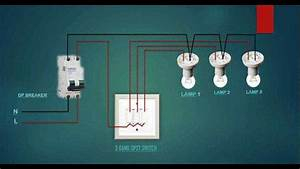 Electrical House Wiring 3 Gang Switch Wiring Diagram