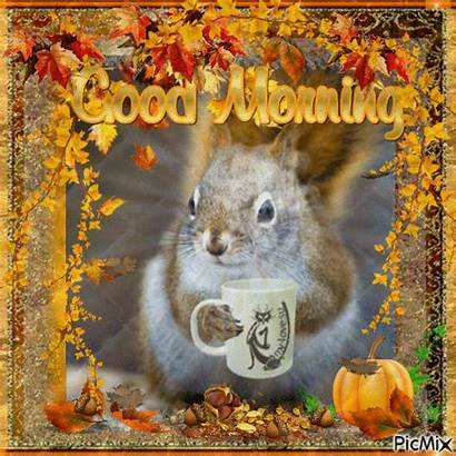 Morning Autumn Coffee Tuesday Animated Quotes Greetings