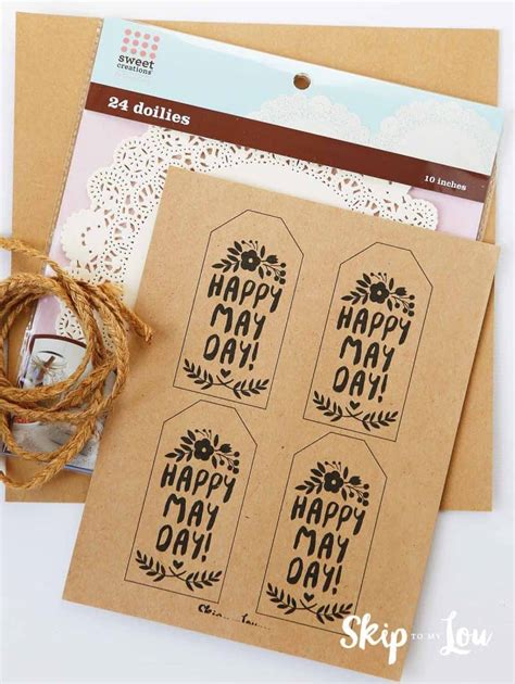 celebrate  day   cute  day printable gift tags