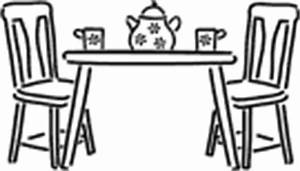 Dining Room Table And Chairs | Clipart Panda - Free ...