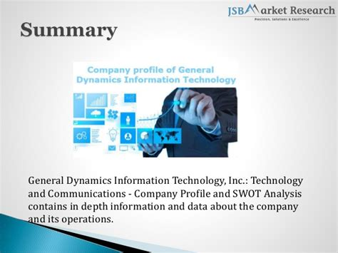 Swot Analysis Of General Dynamics Information Technology