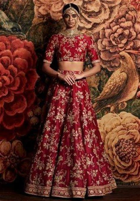 unique home decor color bridal lehenga choli from sabyasachi collection