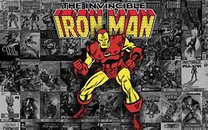 Ironman Comic Book Wallpaper | www.imgkid.com - The Image ...
