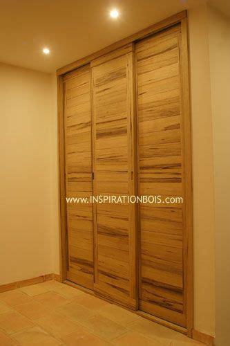 portes de dressing coulissantes sur mesure en bois massif placard en 2018