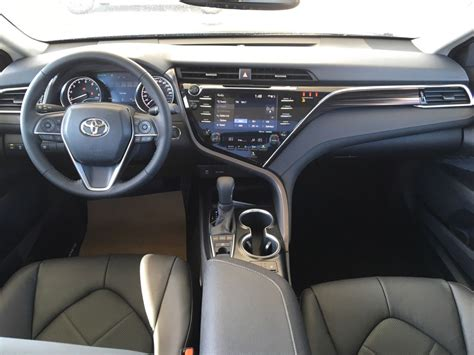 toyota camry interior new 2018 toyota camry xle 4 door car in kelowna bc 8ca2950