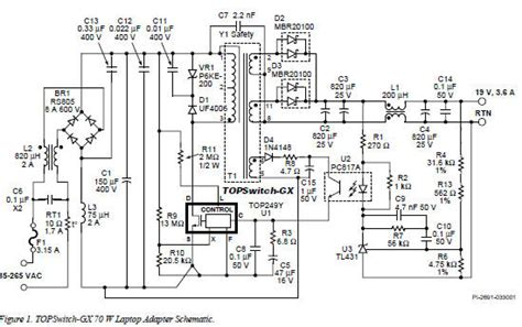 Wiring Diagram For Dell Power Supply Free by Laptop Power Supply Adaptor Circuit