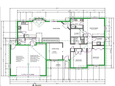 blueprints for houses best free software to draw house plans free green house