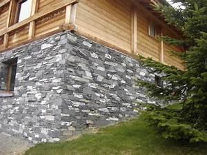 Mur En Moellon : agencement d 39 ext rieur ardoisiere des 7 pieds ~ Dallasstarsshop.com Idées de Décoration