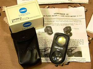 Minolta Auto Meter Iiif And Accessories Minfm3 For Sale At