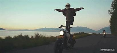 Motorcycle Surfing Motor Riding Fun Animated Looks