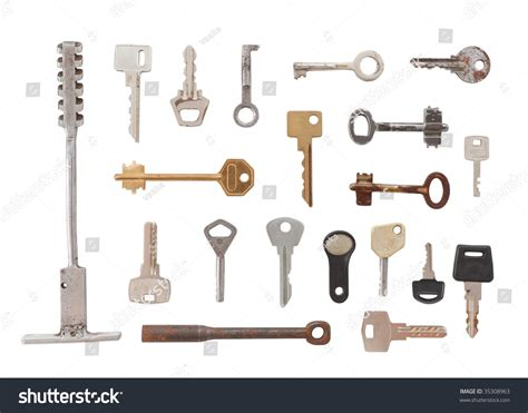 Twenty Different Types Of Keys Big And Small, Old And New