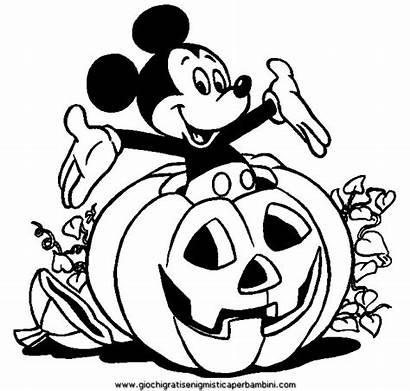 Citrouille Halloween Dessin Coloriage Mickey Imprimer Disney