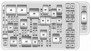 Chevrolet Malibu  2011  U2013 2012   U2013 Fuse Box Diagram