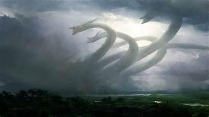 Storm Desktop Backgrounds Wallpapers Computer Dragons