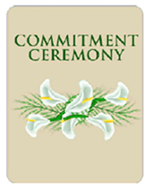 commitment ceremony  printable party invitations