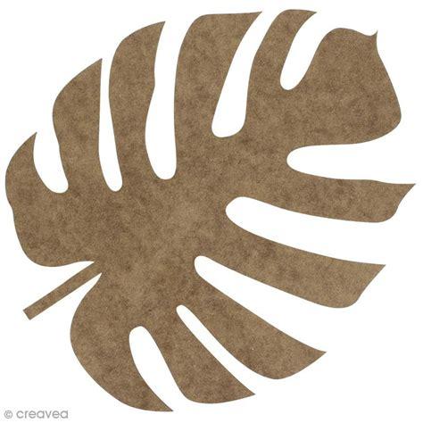 cours cuisine gratuit feuille voyageur monstera en bois à décorer 30 cm