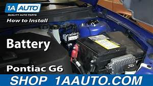 How To Install Replace Dead Battery 2005