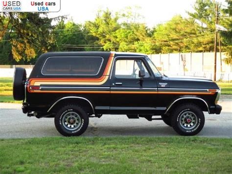 for sale 1979 passenger car ford bronco ranger xlt houston insurance rate quote price 2001