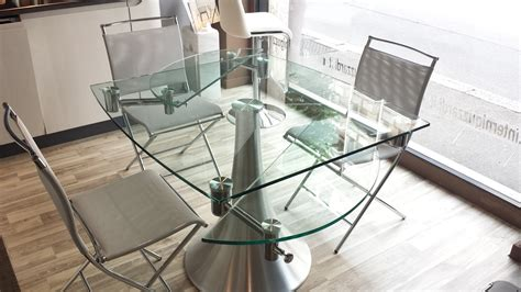tavolo rotondo allungabile cristallo tavoli rotondi in cristallo allungabili tavolo da cucina