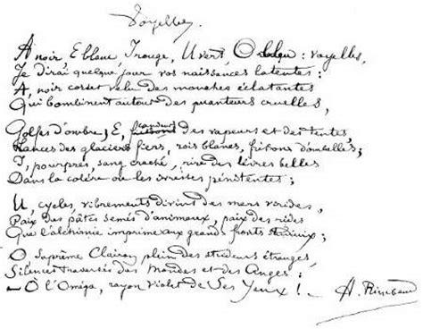 Lecture Analytique Le Dormeur Du Val Arthur Rimbaud by Voyelles Rimbaud Commentaire Compos 233