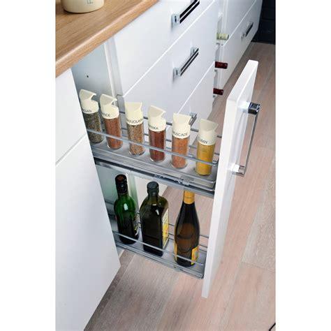 tiroir coulissant meuble cuisine tiroir à épices coulissant cuisinez pour maigrir