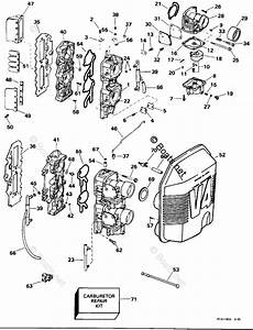 Evinrude Outboard Parts By Year 1996 Oem Parts Diagram For