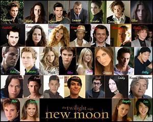 Complete Cast Of New Moon - Twilighters Fan Art (31738617 ...