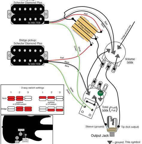 schecter series wiring diagram facybulka me