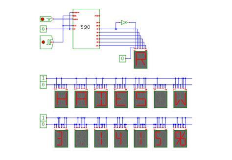 alphanumeric display 16 segment