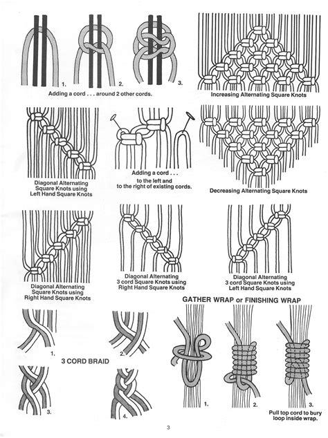 knotting notions book macrame pattern book  macrame