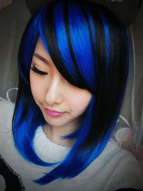 Hair With Blue by Pin By Jodi Jacques On You Need To Try This Blue