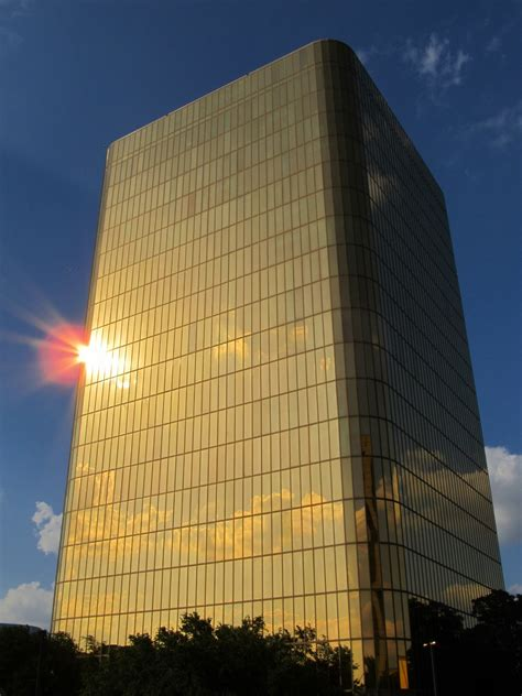 Gold Office Building Free Stock Photo - Public Domain Pictures