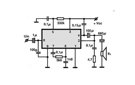 tda circuitos integrados  audio utilizacao