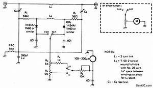 In Line Wattmeter - Measuring And Test Circuit