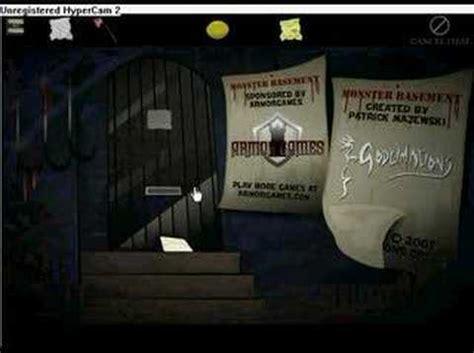 Monster Basement Walkthrough Youtube