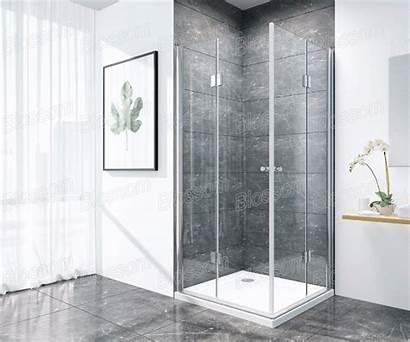 Shower Glass Door Corner Pivot Self Frameless