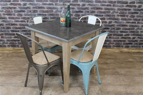 vintage style cafe table