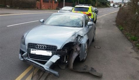 Barrier Audi by Audi Driver Crashes Into Barrier In Fulwood