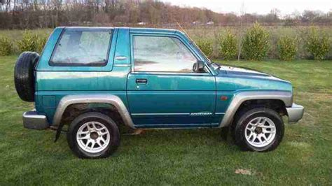 Daihatsu 1997 Sportrak Riviera 1.6 4x4 4wd 37k Miles! 1 Owner